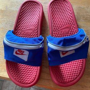 Nike Benassi Fanny Pack Slides